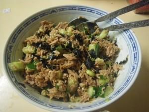 seaweed-tuna-nori-salad