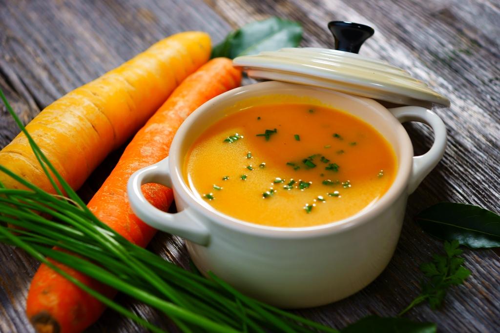 carrot-ginger-tofu-soup