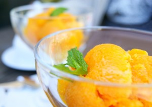 healthy-dessert-orange-sorbet