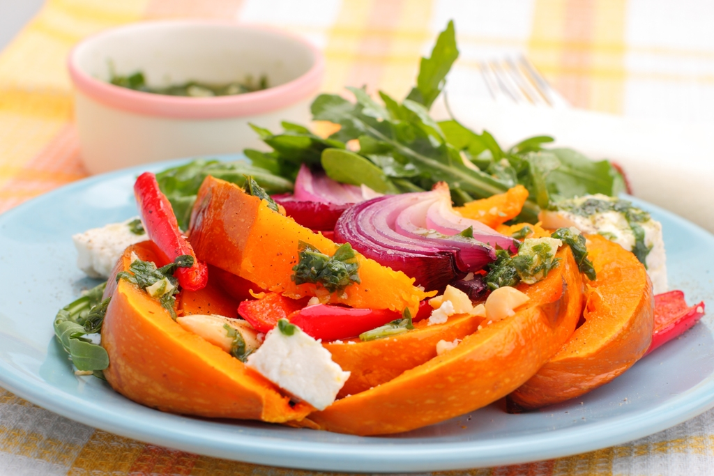 roasted-pumpkin-salad